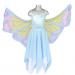 Chiffon Butterfly Fairy - Blue