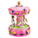 Pink Poppy Fairytale Musical Carousel