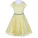 Isabella Dress - Yellow