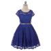 Isabella Dress - Royal Blue