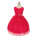 Maria Dress - Fuchsia