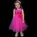 Carly Dress - Fuchsia