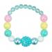 Pink Poppy Pastel Dream Bracelet - Blue