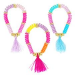 Pink Poppy Tassel Fashion Bracelets