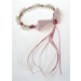 Flower Garland - Rose & Ivory