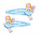 Pink Poppy Fairy Hair Clips - Blue