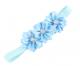 Gem Flower Headband (Elastic) - Blue