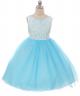 Lauren Dress - Aqua