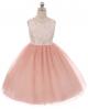 Lauren Dress - Dusty Rose