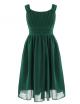 Leah Dress - Forrest Green