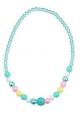 Pink Poppy Pastel Dream Necklace - Blue
