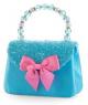 Pink Poppy Forever Sparkle Hard Handbag - Blue