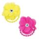Pink Poppy Summer Blossom Petals Flower Hair Elastics