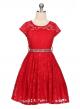 Isabella Dress - Red