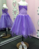 Sparkle Princess Dress - Mauve