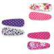 Pink Poppy Vintage Princess Fabric Hair Clip