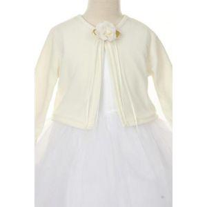 Knit Bolero - Ivory