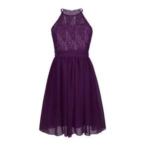 Alana Dress - Purple