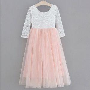Aubry Dress - Blush