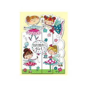 Rachel Ellen Card - Fairy Birthday Princess
