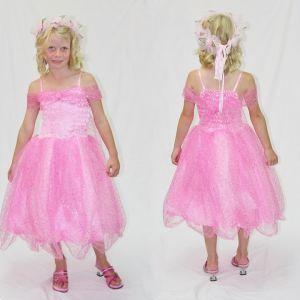 Sparkle Princess Dress - Light Pink