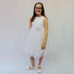 Carly Dress - White