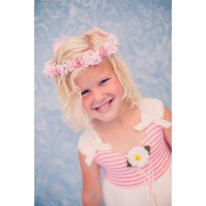 Flower Garland - Baby Pink