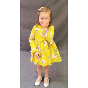 Harper Dress - Mustard