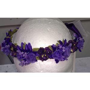 Flower Garland - Purple
