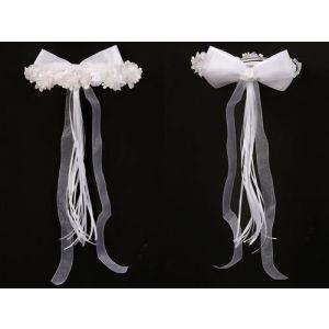 Flower Garland - White