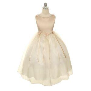 Zahara Dress - Champagne