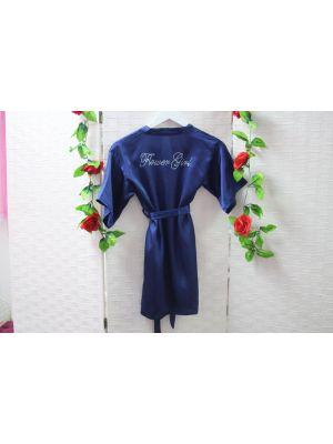 Flower Girl Robes - Navy
