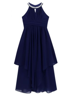 Bethany Dress - Navy