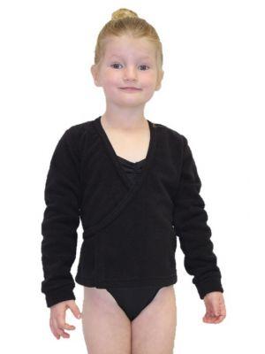 Ballet Crossover Fleece - Black