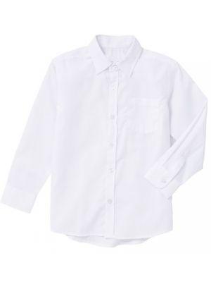 Boys Dress Shirts (Long Sleeve) - White
