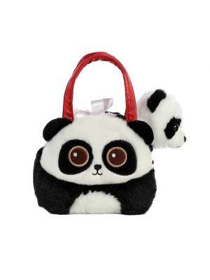 Fancy Pals Bright Eye Panda Pet Carrier