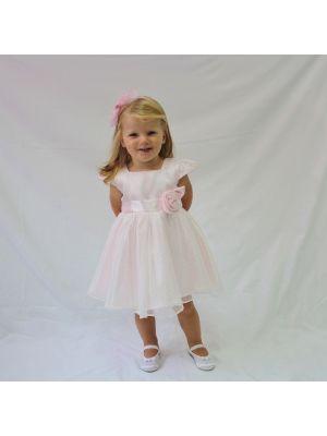 Caitlin Dress - Pink - 24M