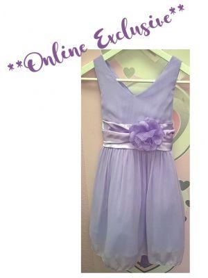 Chelsea Dress - Lilac - Size 13/14 *FINAL STOCK