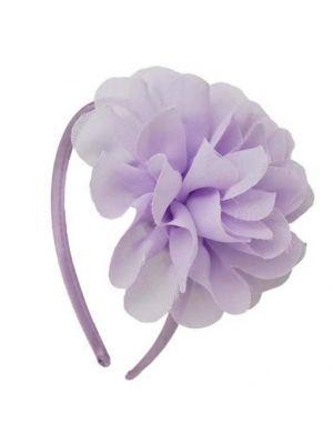 Chiffon Flower Headband - Lilac