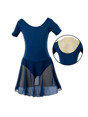 Chloe Leotard Dress - Navy