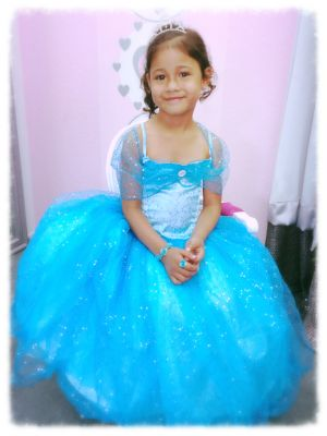 Sparkle Princess Blue