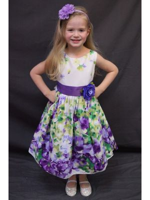 Evie Dress - Lavender