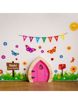 Fairy Doors - (Variety of Colours)