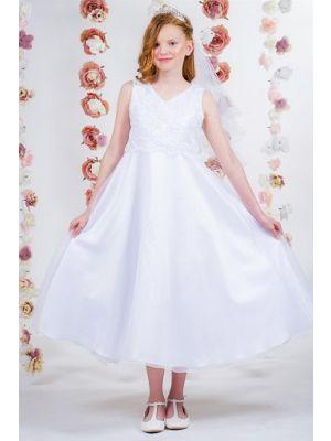 Faith Dress - White