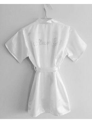Flower Girl Robes - White