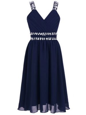Freya Dress - Navy