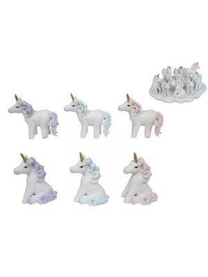 Glitter Unicorn Figurines - 10cm