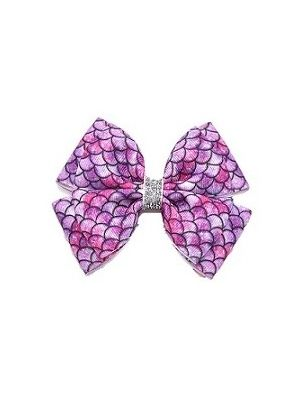 Iris Hair Clip - Mermaid Pink