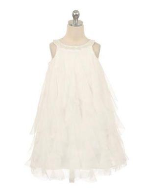 Laura Dress - Ivory