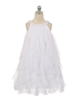 Laura Dress - White